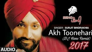 Akh Toonehari - Surjit Bindrakhia (Remix) | DJ Hans | Bindrakhia Punjabi Songs | New Punjabi Remix
