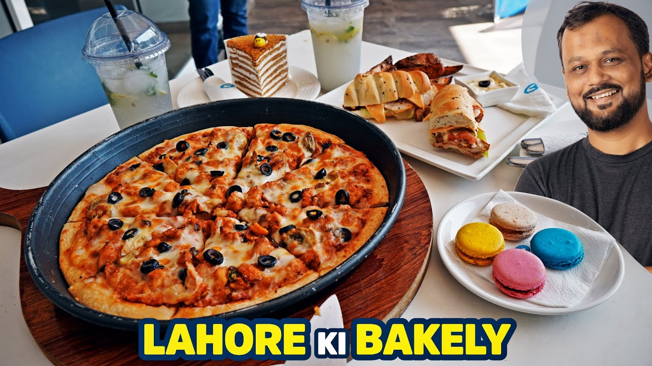 Lahore ki Bakely | Bombay Pizza , Special Honey Cake, Macrons, Sandwiches and more
