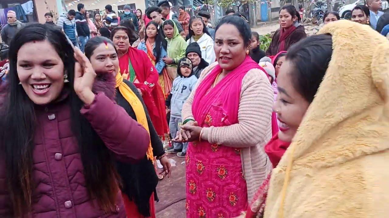 पन्चेबाजामा नाच्न नजान्निले हेर्नू होला कसरी नाच्नी भनेर Nepali panchebaja Dance chitwan