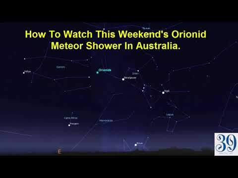 Orionid meteor | How To Watch This Weekend's Orionid Meteor Shower In Australia
