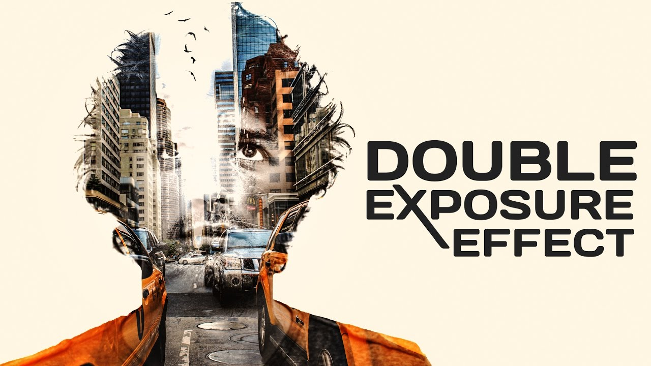 Double Exposure Graphic Design City