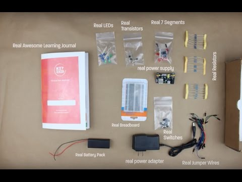 Kit For Every Kid - Educational Electronics Kit - Kickstarter Jan 2017