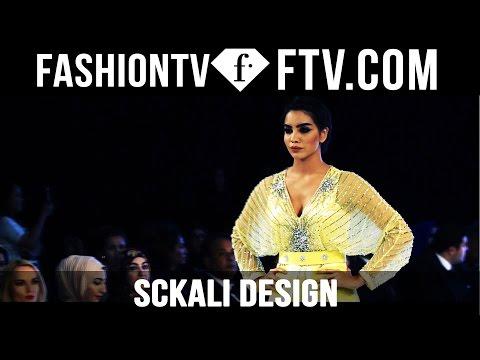 Sckali Design at Mercedes Benz Fashion Week Doha 2015   FashionTV