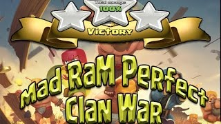Clash of Clans - Perfect War!! 10 V. 10 Mad RaM Perfect War Recap