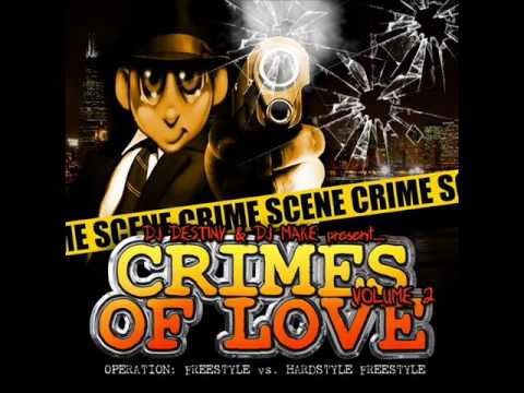 Crimes of Love vol 2 (part 2) Chicago Ghetto House with Freestyle and Hard House - Dj Make