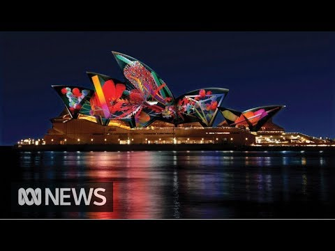 The Sydney Opera House like you've never seen it before