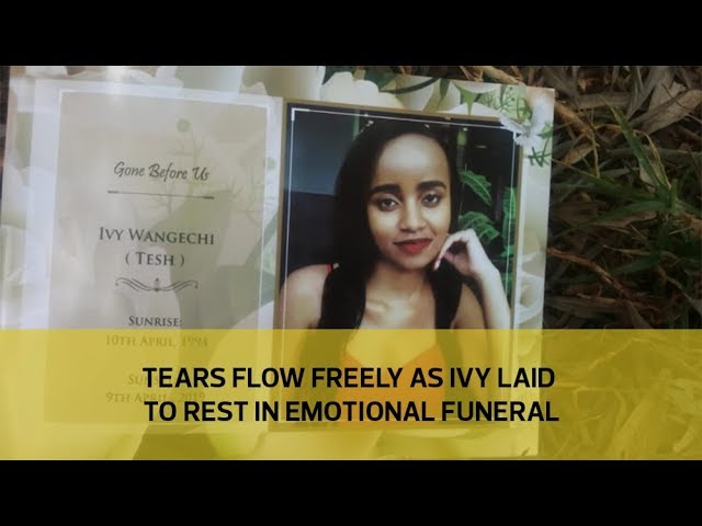 Tears flow freely as Ivy laid to rest in emotional funeral