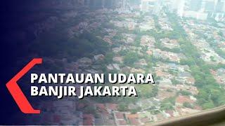 Pantauan Udara Banjir DKI Jakarta, Sejumlah Kawasan Masih Terendam
