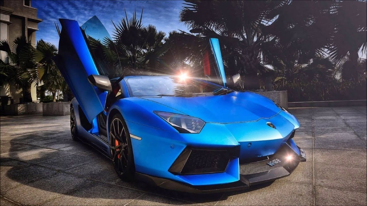 Blue Lamborghini Hd Wallpaper Kram Blue Lambo Youtube