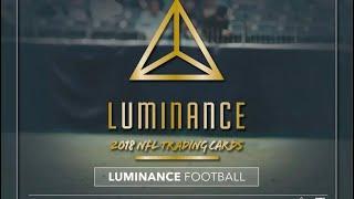 06/26/18 - eBay - 9 PM CDT - 2018 Panini Luminance Football Full Case Break