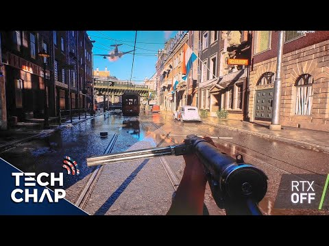Battlefield V Gameplay with GeForce RTX 2080 Ray Tracing! [Extended] | The Tech Chap