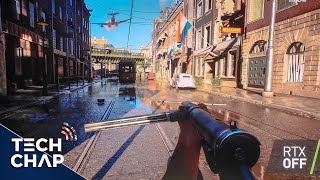 Battlefield V Gameplay with GeForce RTX 2080 Ray Tracing! [Extended] | The Tech Chap thumbnail