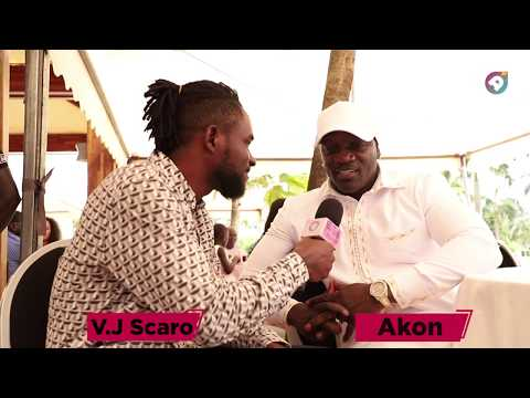 Akon says he came to Ghana to welcome the US celebrities to the country and make them feel at home