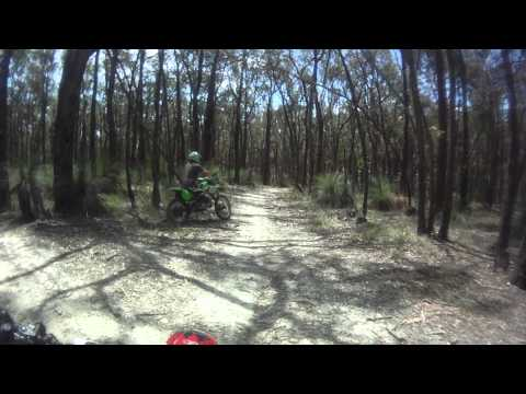 Trail Riding HD 720p (60fps) CRF450 (onboard) and KX125