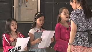 The Voice Kids: Bianca vs Esang vs Stephanie Battle Rehearsal