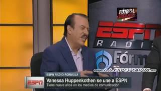Amplia entrevista a Vanessa Huppenkothen en su llegada a ESPN - ESPNRF