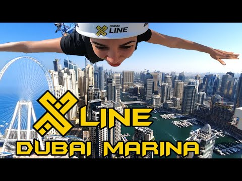 XLINE Dubai Zipline 2020 !