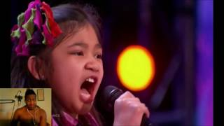 Angelica Hale: Future Star STUNS The Crowd OH. MY. GOD!!! | Auditions 2 | agt 2017 - Reaction