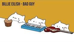 """Bongo Cat - Billie Eilish """"bad guy"""" (Cat Cover)"""