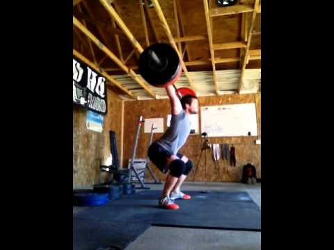 snatch DL + lo-hang snatch 1.1.1. 215#