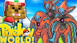 CAN WE CATCH A LEGENDARY DEOXYS!? - PIXELMON WORLD #28