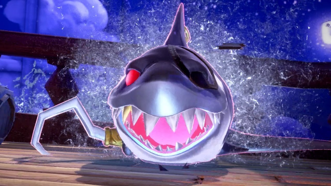 Shark Boss Luigis Mansion