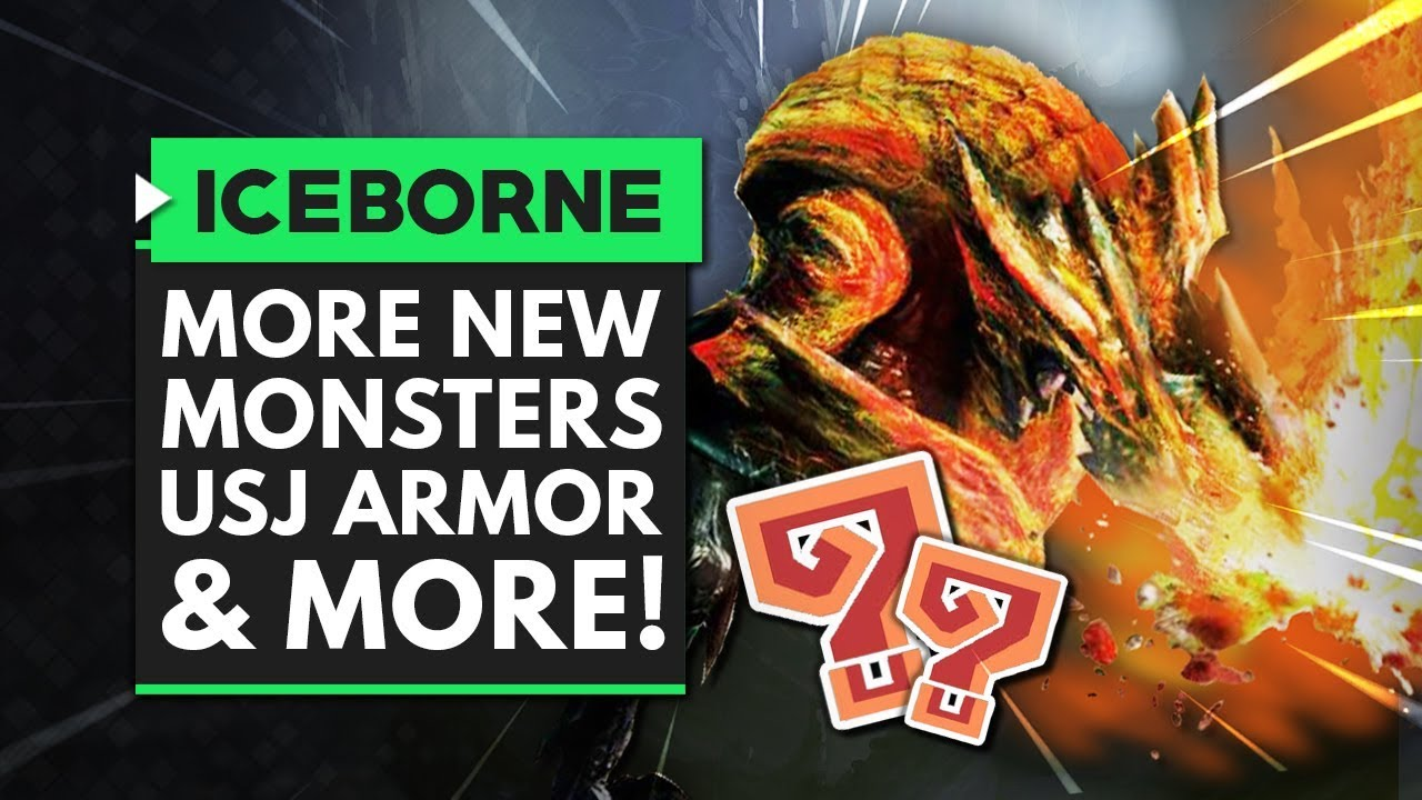 Monster Hunter World Iceborne | New Monsters Coming, USJ Armor & Arch Tempered Master Rank thumbnail