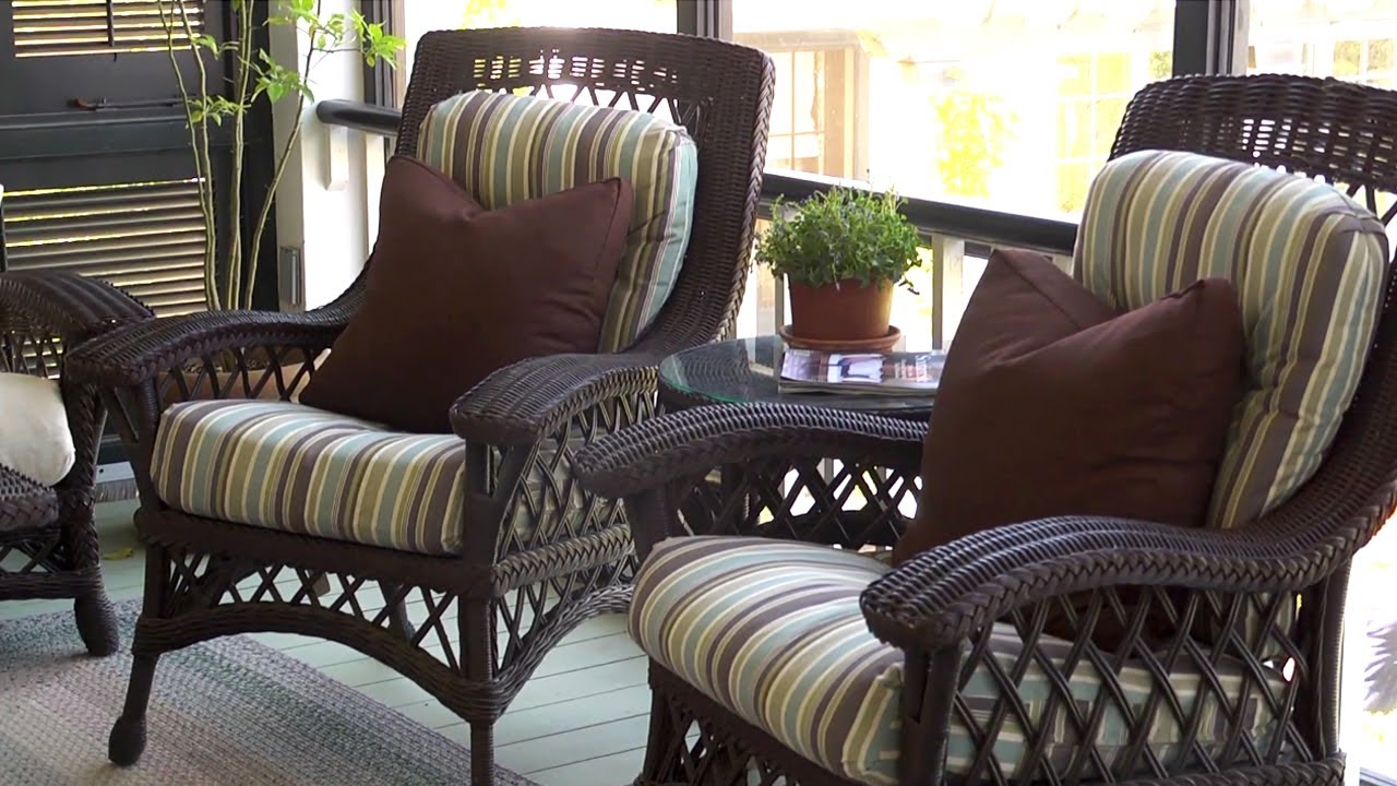 Back Porch Tour At Home With P Allen Smith Youtube
