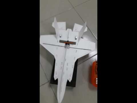 Máy bay mô hình F35 mini sải 30×45