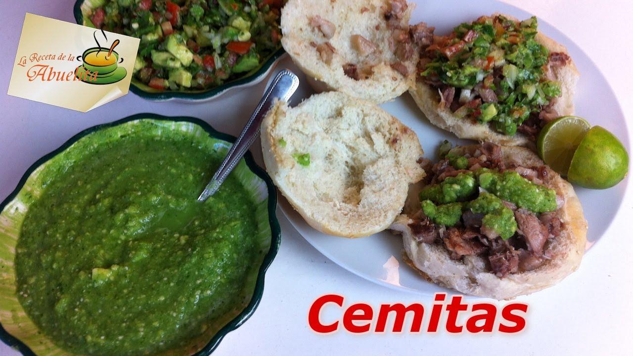 Ricas Cemitas De Cabeza Estilo Puebla