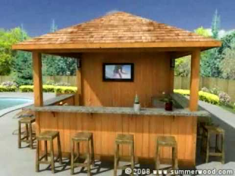 small pool cabana. Summer Fun - Surfing With Summerwood Products Surfside Pool Cabanas YouTube Small Cabana B