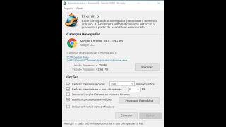 Como usar o Firemin para reduzir o uso de memoria ram do google chrome