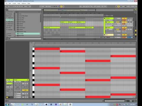 Ableton Live 9 Piano Roll Midi Tutorial