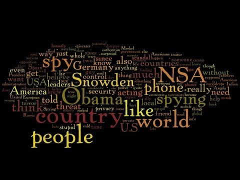 US Spying stories- The reaction online. Samantha Barry BBC World News