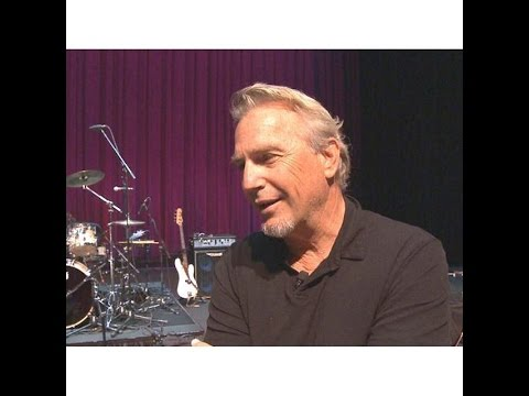 Kevin Costner talks on performing with his band Modern West , his career, & love of music.