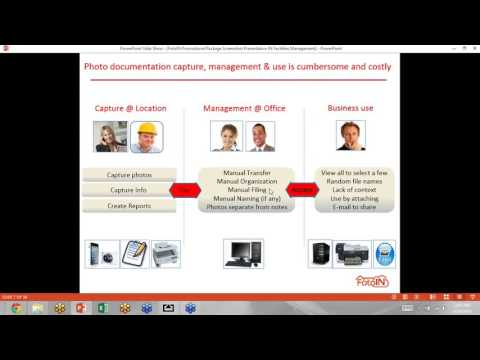 Automated Photo Documentation IN Facilities Managment