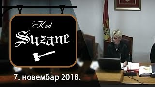 ИН4С: Код Сузане - 7. новембар 2018.
