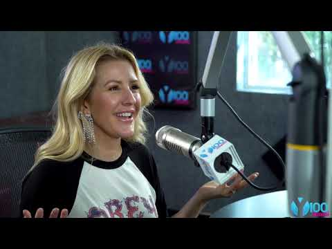 Ellie Goulding on Y100's Mack in the Afternoon w/ Nina & Nick