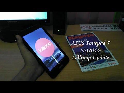 Review Asus Fonepad 7 FE170CG Lollipop