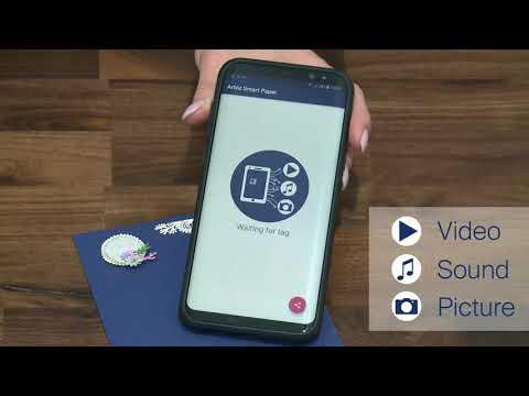 Artoz Smart Paper with NFC