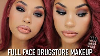100 % DRUGSTORE/AFFORDABLE GLAM MAKEUP LOOK
