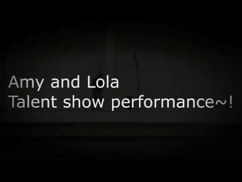 My 2017 Talent show Performance!