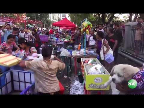 Removal of Roadside Vendors in Yangon