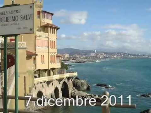 Mare della liguria lungomare di genova pegli 1 youtube for Lungomare genova