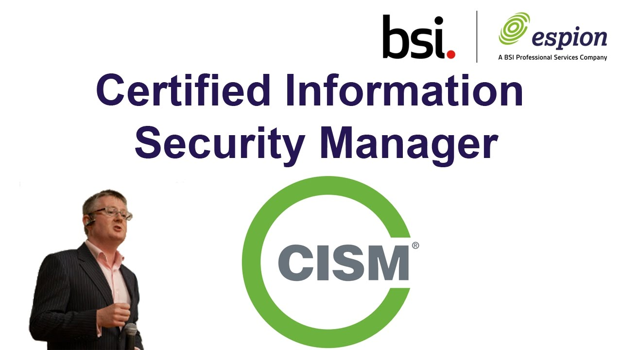 Cism certified information security manager youtube cism certified information security manager 1betcityfo Choice Image
