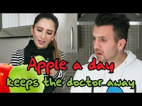 Apple A Day Keeps The Doctor Away | OZZY RAJA