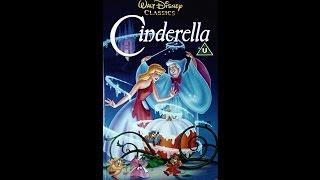 Opening to Cinderella UK VHS 1992
