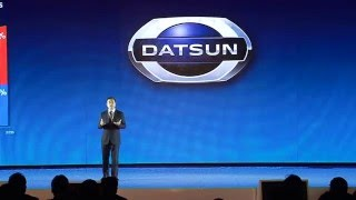 Lauching DATSUN Go & Go+ Launching BTS 2013