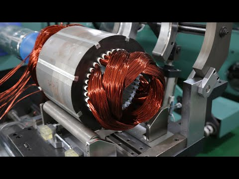 China Super High-Efficiency New Electric Motor Technology