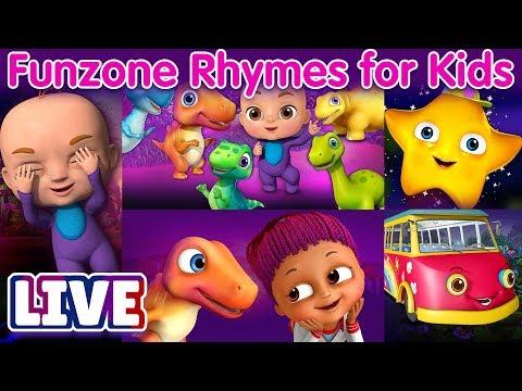 ChuChu TV Funzone 3D Nursery Rhymes & Songs For Kids - Live Stream - วันที่ 07 May 2018
